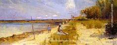 Charles Conder Rickett's Point, painting Authorized official website