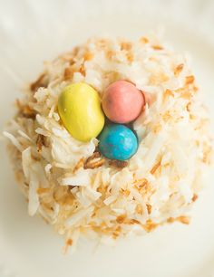 Coconut Cupcakes with Toasted Coconut Frosting | browneyedbaker.com