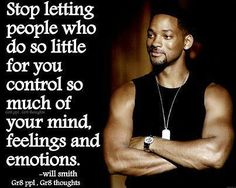 learned this a long time ago. When you stop letting people who dont matter affect you , you will be sooo much happier.