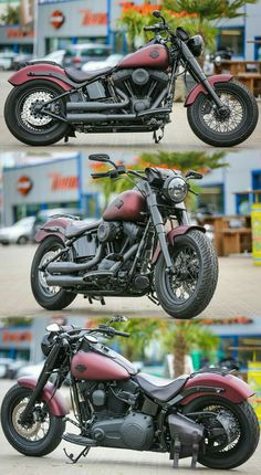 Customized Softail-Slim