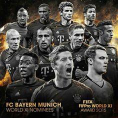 FIFPRO WORD XI AWARD 2015