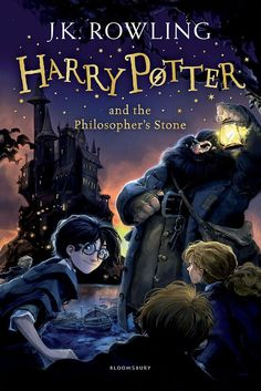 Harry Potter and the Philosopher's Stone writen by J. Rowling: Escape to Hogwarts with the unmissable series that has sparked a lifelong reading journey for children and families all over the world. The magic starts here. Harry Potter has never even he Philosopher's Stone Harry Potter, Harry Potter Book Covers, Harry Potter New, Mundo Harry Potter, Rowling Harry Potter, Comic Sans, Harry Potter En Anglais, Joanne K Rowling, 4 Image