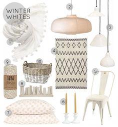 Decor: Winter Whites