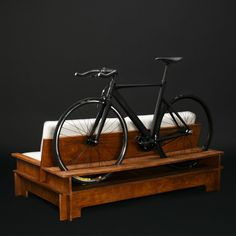 As I've noted before, not everyone has a garage or similar place to store a bicycle; sometimes bikes need to be sorted in apartments, offices or studios. And designers keep developing new ways for end users to do just that. The industrial bike rack from BLR Design comes with either
