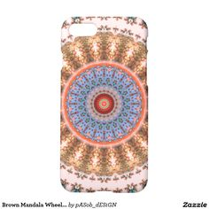 Brown Mandala Wheel...