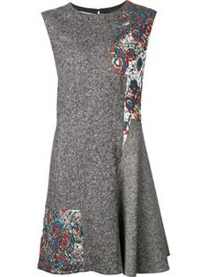 flared sleeveless dress $2,554 #Farfetch #womensfashion #DesigerClothing