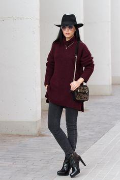 Look con jeans Meltin' Pot, botines French Connection y Sombrero de H&M