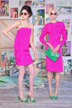 Christian Siriano Resort 2015 Fashion Show Colorful Fashion, Love Fashion, High Fashion, Fashion Show, Fashion Design, Fashion Images, Runway Fashion, Spring Fashion, Christian Siriano