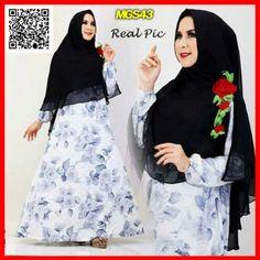 Grosir Baju Gamis Syari Murah Busui S636 Baju Gamis