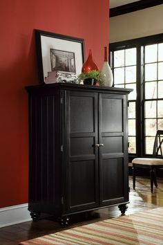 Hammary Furniture High Point Nc Home Page Official Website Dark Home Office Cabinet Black 919-944 by Hammary Furniture - Hammary ...