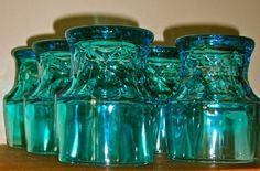 Vintage Viking turquoise Tumblers $80.00
