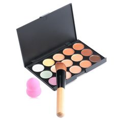 The New Hot Special Professional Makeup Base Palettes Cosmetic 15 COLOR Concealer Facial Face Cream Care Camouflage 1439319