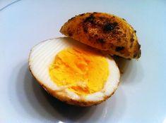 Gebakken gekookte eieren - OhMyFoodness