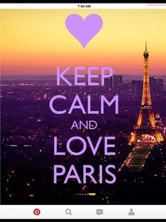 Of course I love Paris