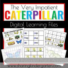 This unit can be used with the book The Very Impatient Caterpillar by Ross Burach. This pack contains: -4 Writing Activities with word wall -Reading Comprehension Game with 32 questions -Sequence Cards and Sheet -Number and Letter Fill-in Worksheets -Building words activity for initial blends with 3 printables -CVC activity with color coded vowels and […]