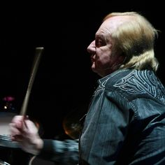 """""""I said, look, I'll give you guys three months to see if I enjoy playing with you guys, and you give me three months to see if you enjoy me at the helm, on the drums. And, well, here I am 45 years later, so I must have passed it""""    #yesband #drummer #alanwhite#yesshows #gig #tour #yestival"""