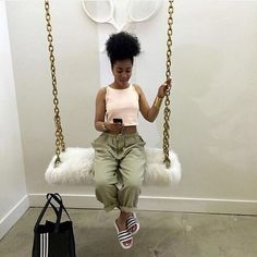 Discover recipes, home ideas, style inspiration and other ideas to try. Dope Outfits, Fashion Outfits, Womens Fashion, Baddies Outfits, School Outfits, New Flame, Beauty Room, Queen, My New Room