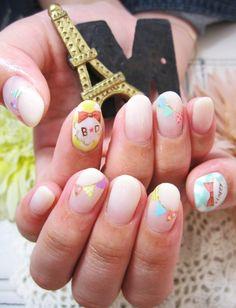 Birthday nail