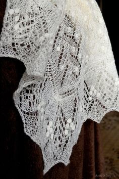 Lace Bridal Shawl Perfect for a Wedding Cover-up by ArtanisWeddingLace