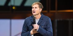 """While on an episode of Oprah Winfrey's """"Super Soul Sunday"""" with his wife Kristen to talk about religion and spirituality, Rob Bell, the widely popular and controversial former megachurch pastor, said that he is now convinced that a church doesn't support same-sex marriage will """"continue to be even more irrelevant."""""""