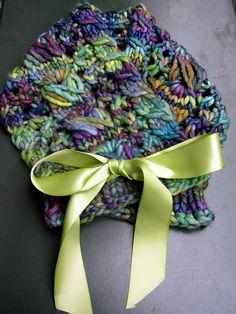 Gotta love super bulky cowls! Ravelry: Syrinx Shells pattern by Alicia Landi