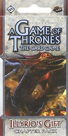 A Game of Thrones LCG Illyrios Gift Chapter Pack >>> You can find more details by visiting the image link. (Note:Amazon affiliate link)