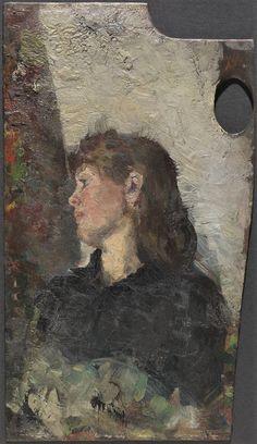 Oda Krohg by Christian Krohg, ca. Sick Kids, Art Academy, First Art, Vintage Artwork, Art Studies, Skagen, Impressionist, Landscape Paintings, Norway