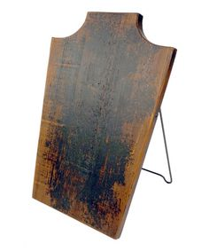 Rustic Easel Jewelry Display #zulily #zulilyfinds