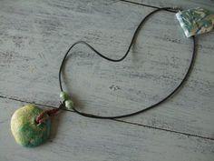 Handmade Necklace with Clay Medallion MIMI PINTO http://www.amazon.co.uk/dp/B00BH668G6/ref=cm_sw_r_pi_dp_mhKYub19AFVDS