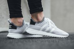 "adidas Flashback W Primeknit ""Footwear White/Core Black"" - EU Kicks Sneaker Magazine"