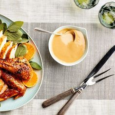 3-Ingredient Thanksgiving Gravy with white wine. ♥ Epicurious