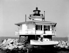 Choptank River Lighthouse (dismantled 1964)