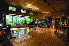 The beautiful Studio Référence in Saint-Calixte, Québec.