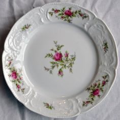 Rosenthal China Classic Rose Salad Plate Floral Pattern Germany