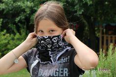 Jolinas Welt: Tullehuivi (für Hals und Kopf) das Resteverwertungswunder bei farbenmix #Schal #Tuch