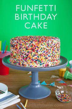 Funfetti Cake: A Very Special Birthday Cake