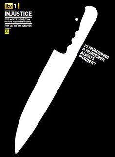 minimalist ad  #print #advertising #murder