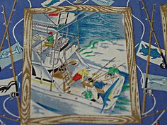 #Vintage Reyn Spooner #Hawaiian Sports Fishing Shirt! Like this? More Gr8 stuff here http://myworld.ebay.com/lotstasell/