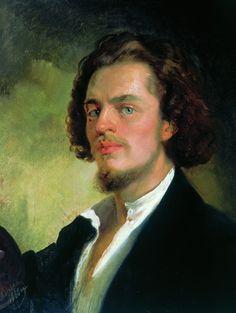 Self Portrait - Konstantin Makovsky 1856