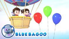 COUNT TO 10 SONG | Blue Bagoo Kids Songs & Nursery Rhymes