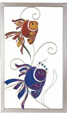 Gray Copper Frame Wall Decoration with Orange and Blue Tropical Fish by StealStreet. $59.99. This gorgeous Gray Copper Frame Wall Decoration with Orange and Blue Tropical Fish has the finest details and highest quality you will find anywhere! Gray Copper Frame Wall Decoration with Orange and Blue Tropical Fish is truly remarkable.Gray Copper Frame Wall Decoration with Orange and Blue Tropical Fish Details:Condition: Brand NewItem SKU: SS-G-97779Dimensions: H: 24.75...