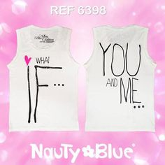 REF 6398 ♥ Be Magic, Be Yourself, Be Nauty Blue ♥
