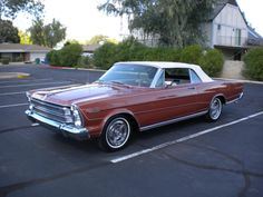 1966 Ford Galaxie 7-Litre Convertible  ..........Just like the car that I owned during college.  It was a fun car and fast.