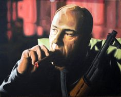 James Gandolfini a.k.a. Tony Soprano by andygoti