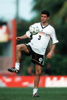 Michael Ballack during a training session