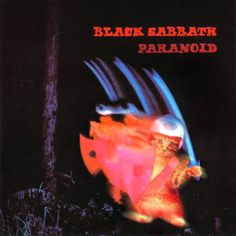 black sabbath-the album paranoid was originally going to be called war pigs but then sabbath were told they needed one more song for the album and came up with paranoid.probably the most popular sabbath song. Famous Album Covers, Rock Album Covers, Classic Album Covers, Box Covers, Music Covers, Lps, Black Sabbath Albums, Black Sabbath Album Covers, Geezer Butler