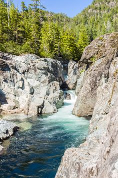 A river at Vancouver Island by Thomas Spinner on 500px