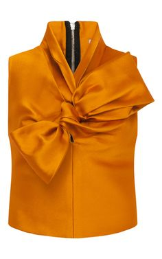 Bow Neckline Top  by PATBO for Preorder on Moda Operandi