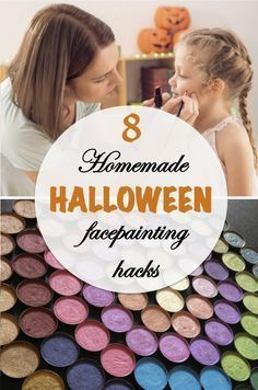 Handy make-up tricks are as much a part of the home-made #Halloween costume as sewing machines and sequins are, and you can never have too many recipes for fake blood, hairy warts, or cheap and easy non-toxic face-paints. Who knew that corn starch and food coloring could get you this far?