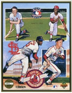 1992 Upper Deck St. Louis Cardinals 100th Anniversary Commemorative Sheet Sample Lot of 10 by Upper Deck. $30.95. 1992 Upper Deck St. Louis Cardinals 100th Anniversary Commemorative Sheet Sample Lot of 10